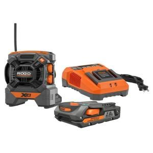 RIDGID 18 Volt Radio Kit R9610