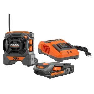 RIDGID 18 Volt Radio Kit R9610