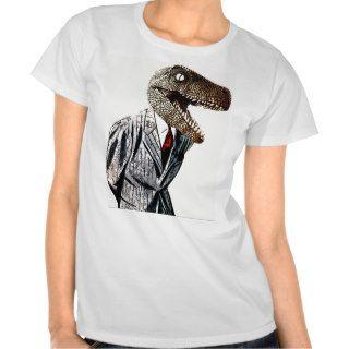 Tyrannosaurus Rex Business Man T shirt