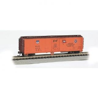 Bachmann Industries ACF 50' Steel Reefer American Refrigerator Transit Company Car, N Scale Toys & Games
