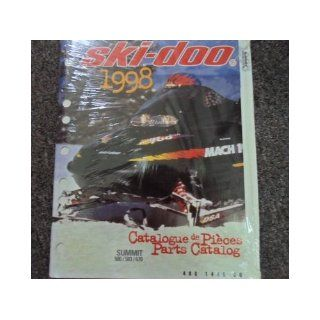 1998 Ski Doo Summit 500 583 670 Parts Accessories Catalog Service Manual OEM 98: ski doo: Books