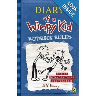Diary of a Wimpy Kid Rodrick Rules Jeff Kinney 9780141337647 Books