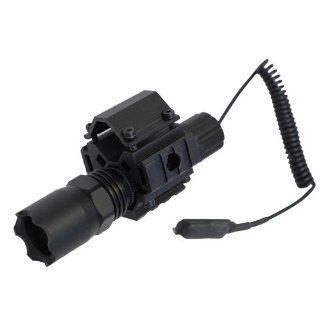 Tactical Rail Mount + 160 Lumens Strobe Flashlight fits 12 Guage Mossberg 500 590 835, Remington 870, Maverick 88 FN TPS Benelli M4 Shotguns: Sports & Outdoors