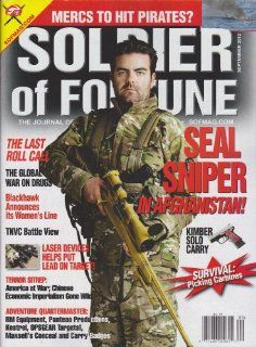 Soldier of Fortune Magazine (September 2012) Various Books