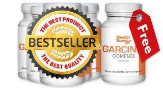 Health Boost Garcinia Complex, Pure Premium Garcinia Cambogia Extract for Fast Weight Loss, 50% HCA Minimum, Hydroxycitric Acid, 500 mg per Capsule, 60 Capsule Bottle X 6 Pack Health & Personal Care