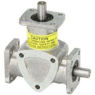 Boston Gear RA621 Right Angle Spiral Bevel Gear Drive, 1:1 Ratio, 2 Way Shaft: Industrial & Scientific