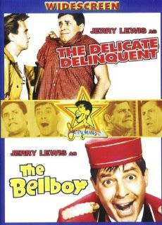 Jerry Lewis Double Feature   The Delicate Delinquent / The Bellboy Jerry Lewis, Darren McGavin, Horace McMahon, Robert Ivers, Martha Hyer, Don McGuire Movies & TV