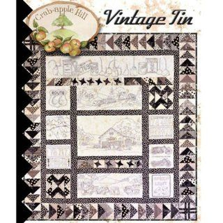 Crabapple Hill VINTAGE TIN Stitchery Quilt Pattern