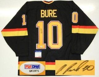 Autographed Pavel Bure Jersey   1994 Stanley Cup Maska Psa dna Coa: Sports Collectibles