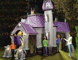 Outdoor Inflatable Airblown Halloween Haunted House Yard Prop : Yard Art : Patio, Lawn & Garden