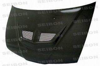 Seibon Carbon Fiber EVO Style Hood Honda Prelude 92 96: Automotive