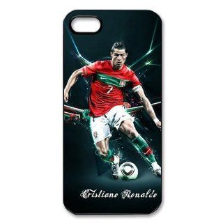 Personalized Soccer Star Cristiano Ronaldo Cover case for iphone 5/5C 0390 05: Cell Phones & Accessories