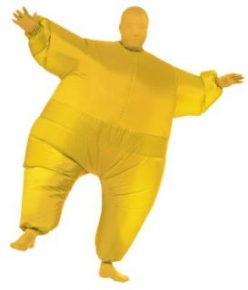 Rubie's Costume Inflatable Full Body Suit Costume, Yellow, One Size Adult Sized Costumes Clothing