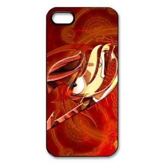 Japanese Cartoon Anime Series Fairy Tail Hero Natsu Iphone 5/5S Case   Fairy Tail Iphone Hard Plastic Case at sosweetycats store: Computers & Accessories