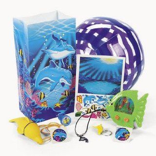 Dolphin Filled Treat Bag   Birthday Party Supplies & Birthday Party Favors & Goody Bags Health & Personal Care