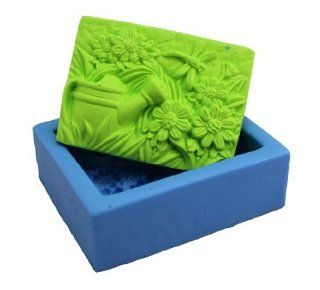 Beauty Rural plants 0838 Craft Art Silicone Soap mold Craft Molds DIY Handmade soap molds