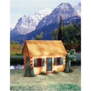 Real Good Toys Quickbuild Crocketts Cabin Dollhouse Kit