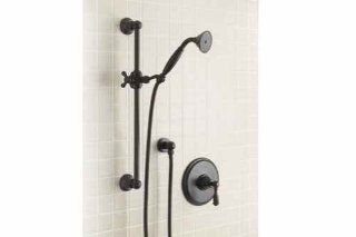 Mico 4725 C4 ORB T Victorian Oil Rubbed Bronze Shower Faucet Trim Cross   Bathtub And Showerhead Faucet Systems