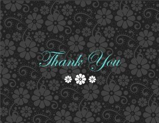 Sophisticated Flowers Boy Thanks   Thank You Cards  Thank You Greeting Cards