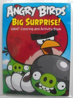 Angry Birds 96 Pg Coloring & Activity Book. (Big Surprise) Heat Sealed in Copyrighted Labeled Sleeve: Toys & Games