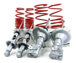 01 05 Honda Civic Coupe / Sedan B&G Shocks + Lowering Springs S2K Suspension Kit Automotive