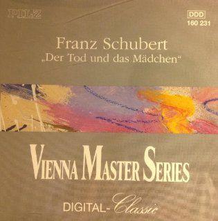 """Franz Schubert """"Der Tod und das Madchen"""" (String Quartet in D minor op. posth. D 810 """"Death and The Maiden"""") / String Quartet in C minor op. posth. D 703)   Vienna Master Series Digital Classic Music"""