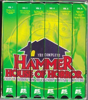 Complete Hammer House of Horror The Tales from the Legendary Film Studio [VHS] Peter Cushing, Tom Clegg, Hammer House Of Horror Movies & TV