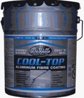DEWITT PRODUCTS 4.75GAL ALU RoofCoating ALUMINUM ROOF COATING & PATCH   Metal Roofing Materials