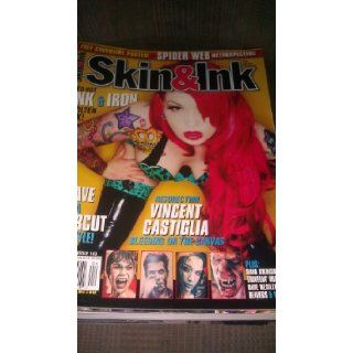 Skin & Ink Magazine April 2013 Violet Eyes Cover #143 (Free Poster of Violet Eyes Inside): skin & ink magazine: Books