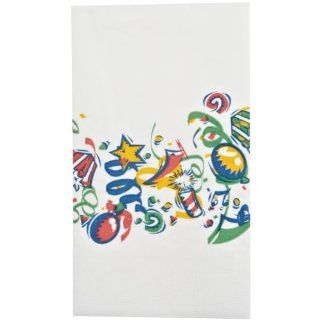 "Dinex DXHS701DN01 Paper Celebration Design 2 Ply Dinner Napkin with 1/8 Fold and Coin Edge Embossed, 17"" Length x 15"" Width (Pack of 100): Industrial & Scientific"