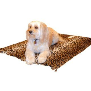 Pedigree Perfection DB702 S LPD My Blankie Leopard Polarctic Fleece Blanket for Your Pet, Small : Pet Beds : Pet Supplies