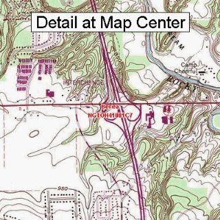 USGS Topographic Quadrangle Map   Berea, Ohio (Folded/Waterproof)  Outdoor Recreation Topographic Maps  Sports & Outdoors