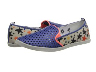 DV8 Ronan Womens Slip on Shoes (Blue)