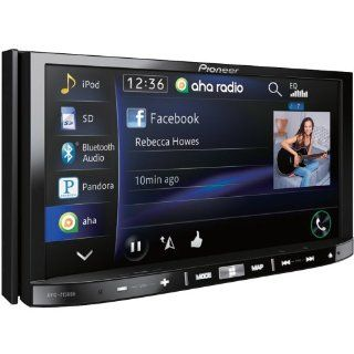 """Pioneer AVICZ150BH In Dash Navigation AV Receiver w/7"""" WVGA Touchscreen Display, Bluetooth, HD Radio Tuner, SiriusXM Ready, Built In Traffic Tuner, & AppRadio Mode for iPhone and Select Android  In Dash Vehicle Gps Units"""