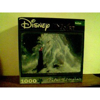 Disney Fine Art 1000 Piece Puzzle   Mickey's Dream By Peter Ellenshaw: Toys & Games