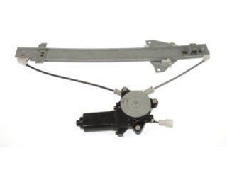 Dorman 741 035 Mitsubishi Montero Rear Passenger Side Window Regulator with Motor: Automotive
