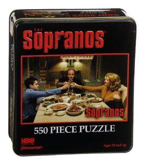 The Sopranos Toasting Tin Jigsaw Puzzle 550pc Toys & Games
