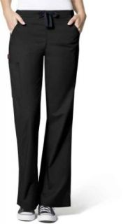 Wonderwink Women's Wonderflex Grace Flare Leg Scrub Pant Medical Scrubs Pants Clothing