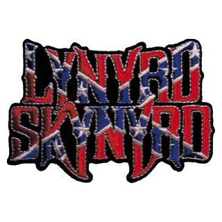 Lynyrd Skynyrd Music Band Patch   Confederate Flag Logo