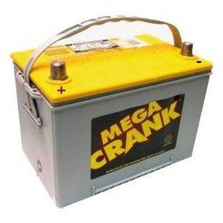 Mega Crank AGM Battery   750 CCA Automotive