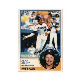 1983 O Pee Chee #84 Alan Ashby: Sports Collectibles