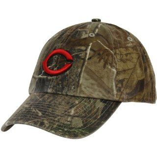 '47 Brand Cincinnati Reds Real Tree Camo Cleanup Adjustable Hat : Sports Fan Baseball Caps : Sports & Outdoors
