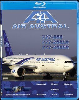 Air Austral Boeing 737 800, 777 200LR & 777 300ER [Blu ray]:  , Just Planes: Movies & TV
