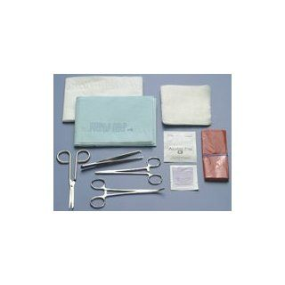 756 Tray Laceration Deluxe Ea Part No. 756 by  Busse Hospital Disposable Industrial Products Industrial & Scientific