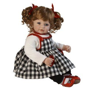 "Adora 20"" Baby Doll Check Mate   Red Hair/Blue Eye: Toys & Games"