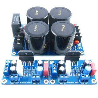 LM3886TF Power Amplifier Board + Rectifier Filter Board Electronics