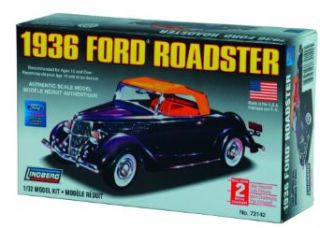 Lindberg 132 scale 1936 Ford Roadster Toys & Games