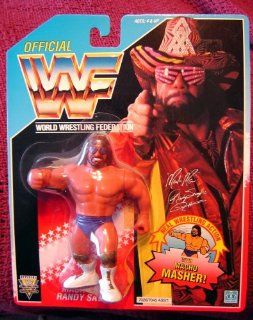 WWF Macho Man Randy Savage Wrestling Action Figure WWE WCW ECW Toys & Games