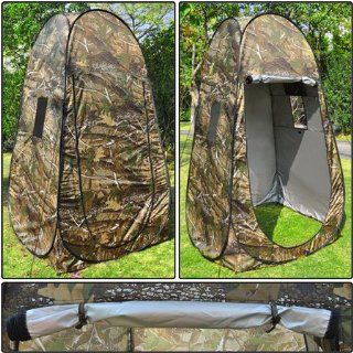 Shower Toilet Portable Privacy Camping Pop Up Tent Camouflage  Camping Chairs  Sports & Outdoors