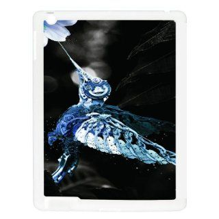 Steampunk Humming Bird  iPad White Case: Computers & Accessories